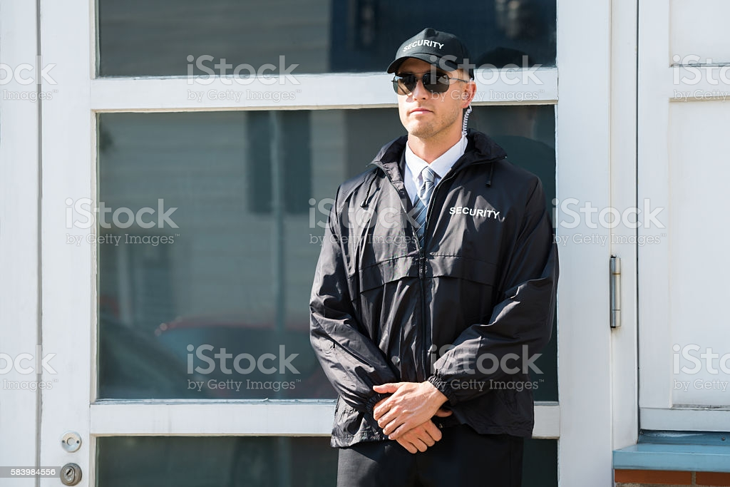 Young Male Security Guard image